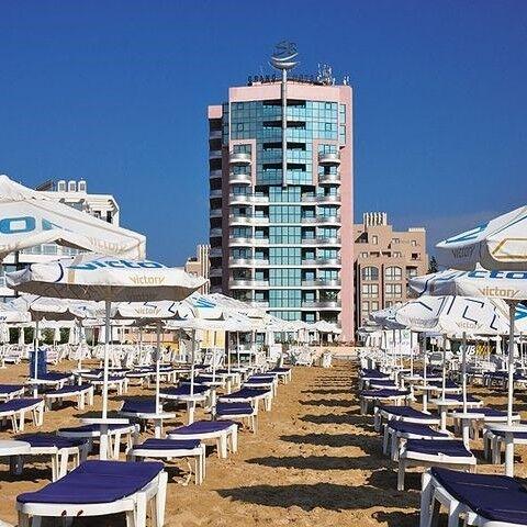 Туристическое агентство Вокруг Света Пляжный авиатур в Болгарию, Солнечный берег, Grand Hotel Sunny Beach 4* - фото 1