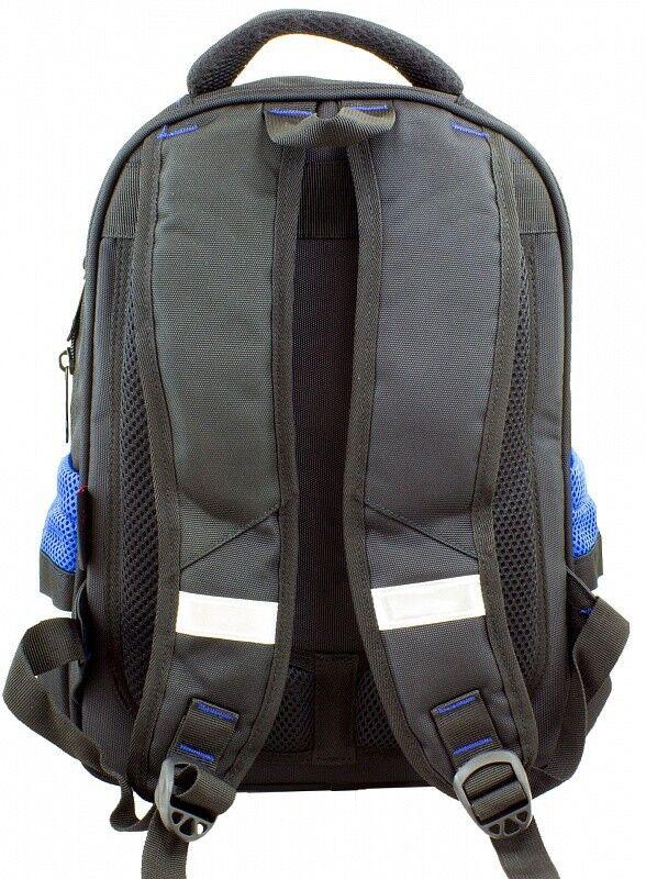 Магазин сумок Winner Рюкзак школьный черно-синий 905 - фото 3