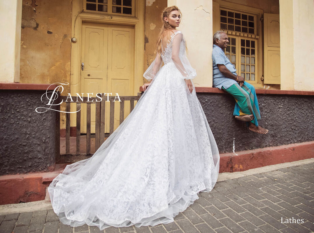 Свадебный салон Lanesta Свадебное платье Lathes - фото 2