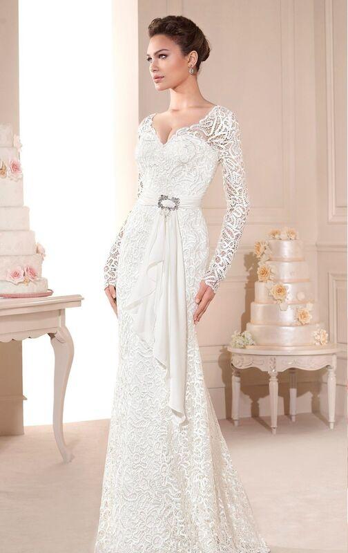 Свадебное платье напрокат Novia D'Art Платье свадебное Barbara - фото 1