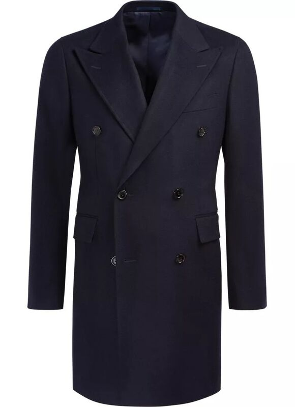 Верхняя одежда мужская SUITSUPPLY Пальто мужское Bleecker J620 - фото 2