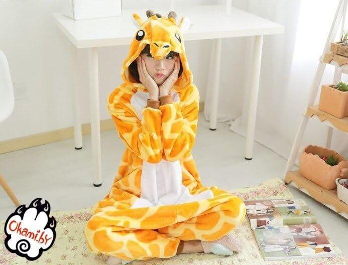 Подарок Taicang Soft Пижама кигуруми «Жираф» - фото 1