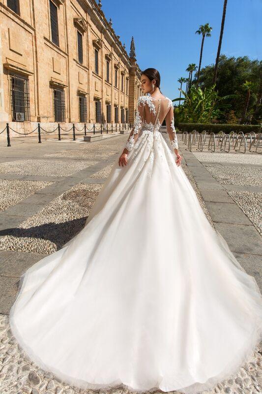 Свадебное платье напрокат Crystal Свадебное платье Alania - фото 2