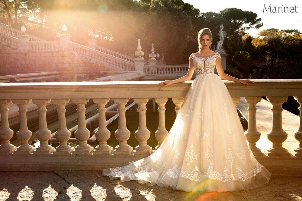 Свадебный салон Bonjour Galerie Свадебное платье «Marinet» из коллекции LA POESIE - фото 2