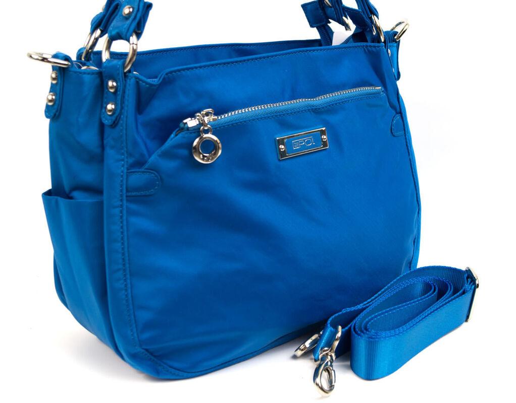 Магазин сумок Epol Сумка женская голубая 9162 - фото 3