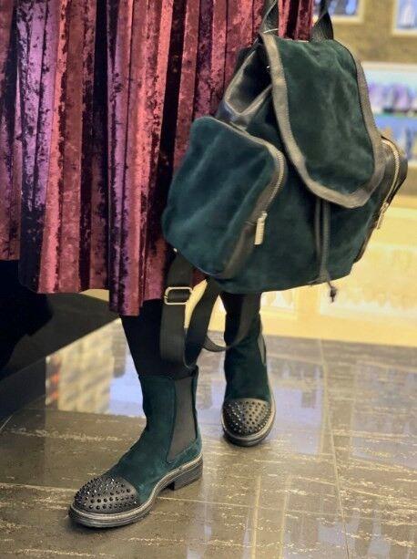Обувь женская Fruit Ботинки женские замша - фото 4
