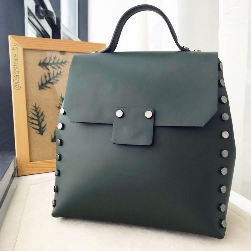 0801a8b81463 Купить Кожаный рюкзак С00237 Vezze в Минске – цены продавцов