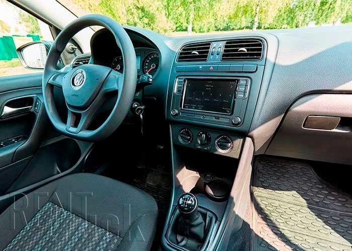 Прокат авто Volkswagen Polo Sedan 2018 г. - фото 9