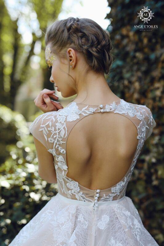 Свадебное платье напрокат Ange Etoiles Платье свадебное AEriality Collection  Janel - фото 3