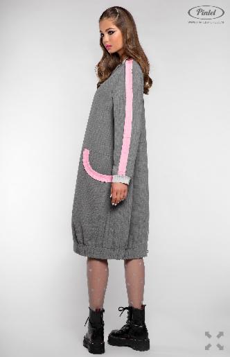 Платье женское Pintel™ Удлинённое платье-куртка  Limari - фото 2