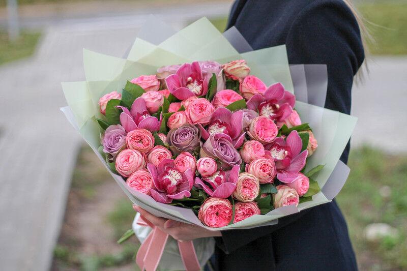Магазин цветов Cvetok.by Букет «Малиновка» - фото 3