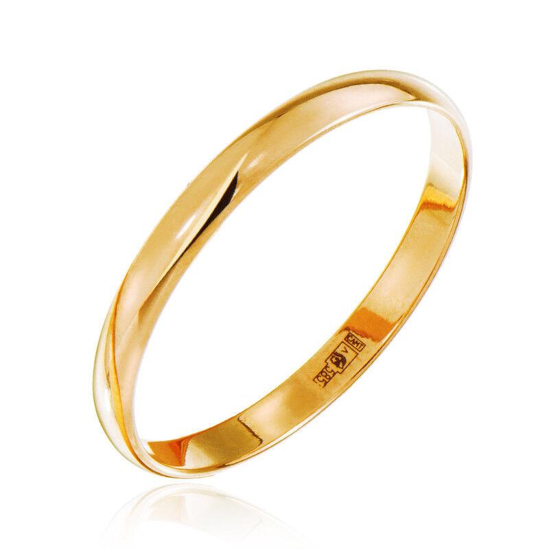 Ювелирный салон Jeweller Karat Кольцо обручальное золотое ширина 2.5 мм арт. 1131800 - фото 1