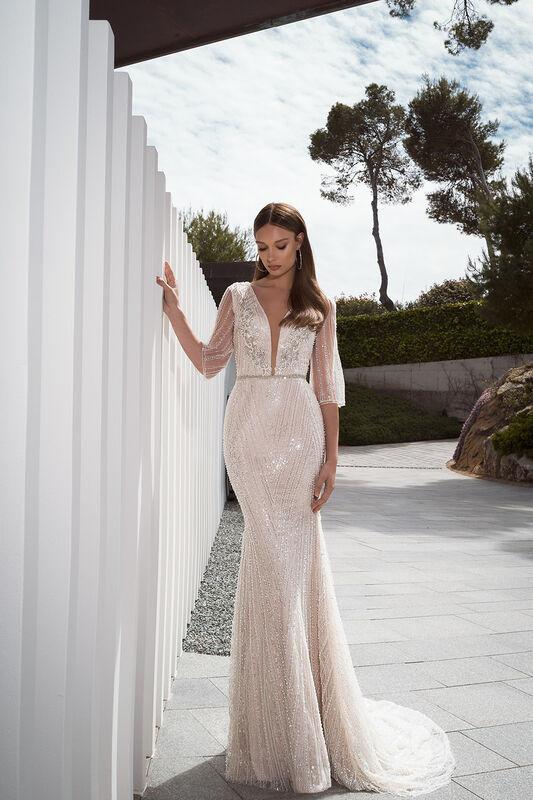 Свадебное платье напрокат Crystal Seliya - фото 1