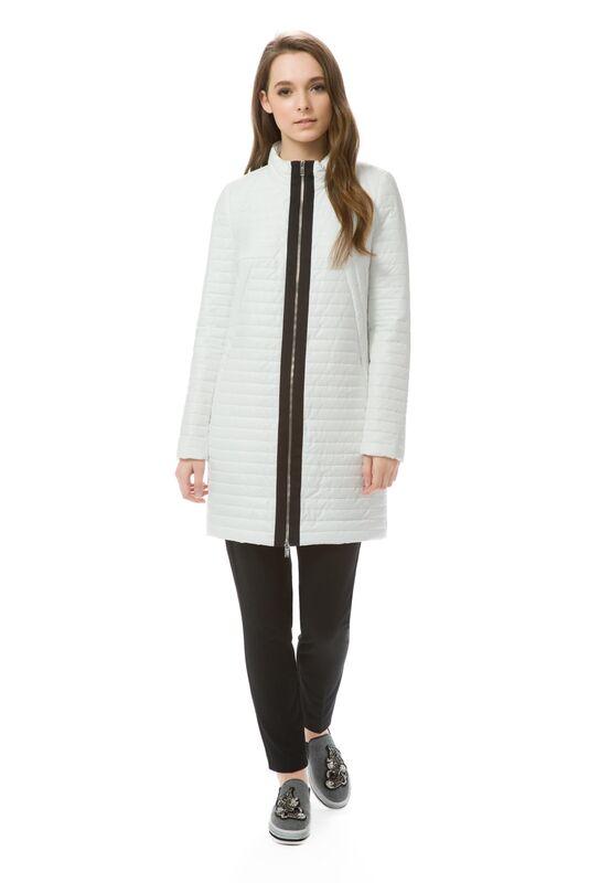 Верхняя одежда женская Elema Пальто женское плащевое утепленное Т-7096 - фото 1