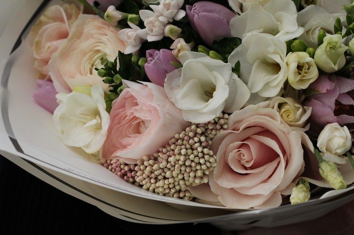 Магазин цветов Cvetok.by Букет «Ванильный фреш» - фото 3