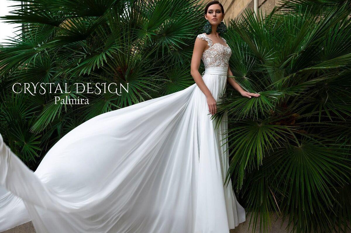 Свадебный салон Crystal Платье свадебное Palmira - фото 2