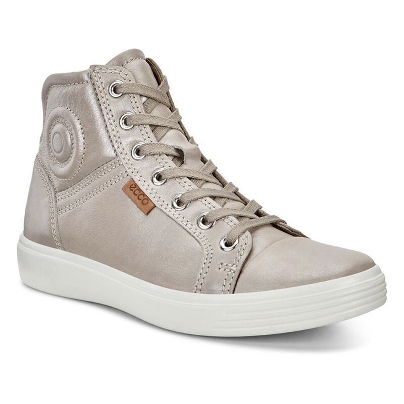 Обувь детская ECCO Кеды высокие S7 TEEN 780003/59146 - фото 1