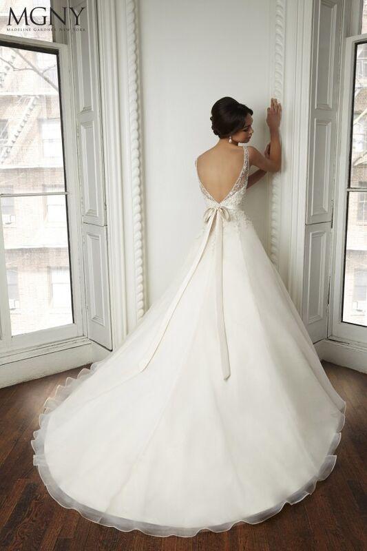 Свадебный салон Madeline Gardner New York Свадебное платье Coco 51022 - фото 2