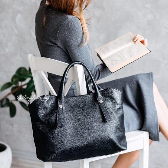 Магазин сумок Vezze Кожаная женская сумка C00466 - фото 2