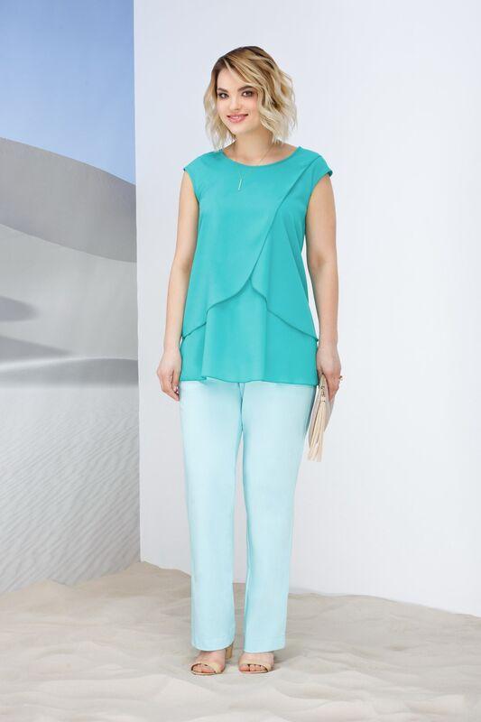 Кофта, блузка, футболка женская Elema Топ женский Т-6968 - фото 1