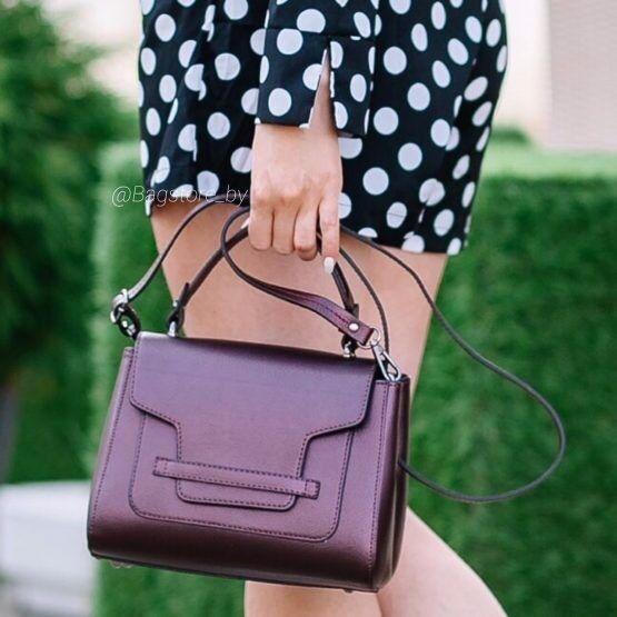 Магазин сумок Vezze Кожаная женская сумка C00398 - фото 1