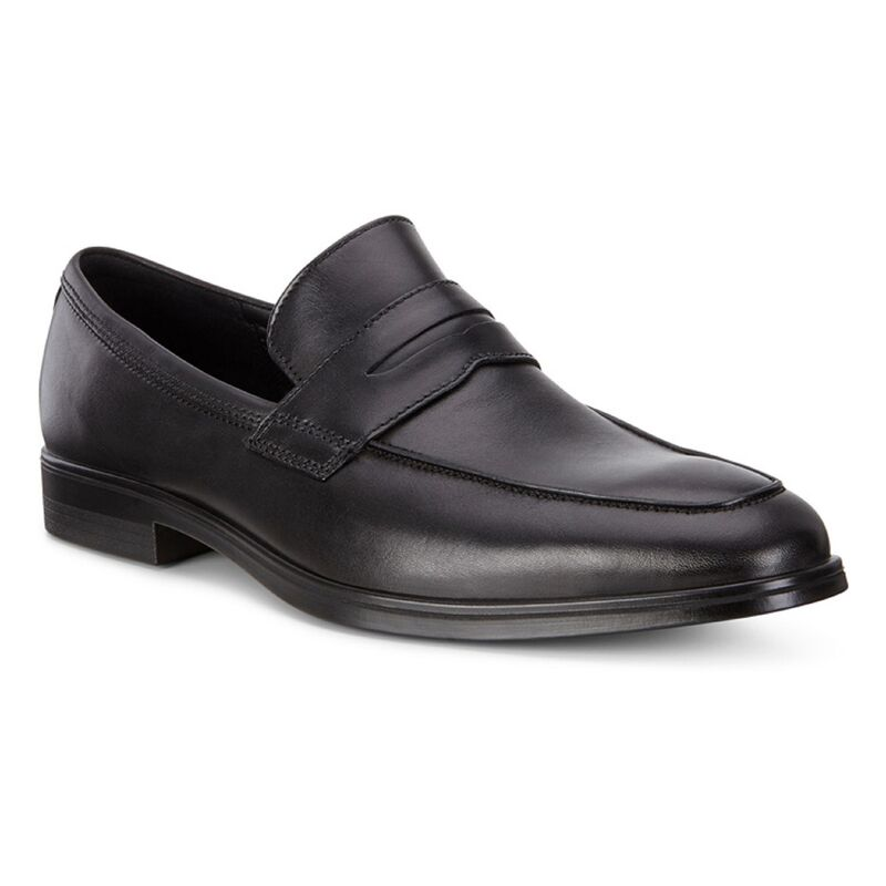 Обувь мужская ECCO Лоферы MELBOURNE 621684/01001 - фото 1