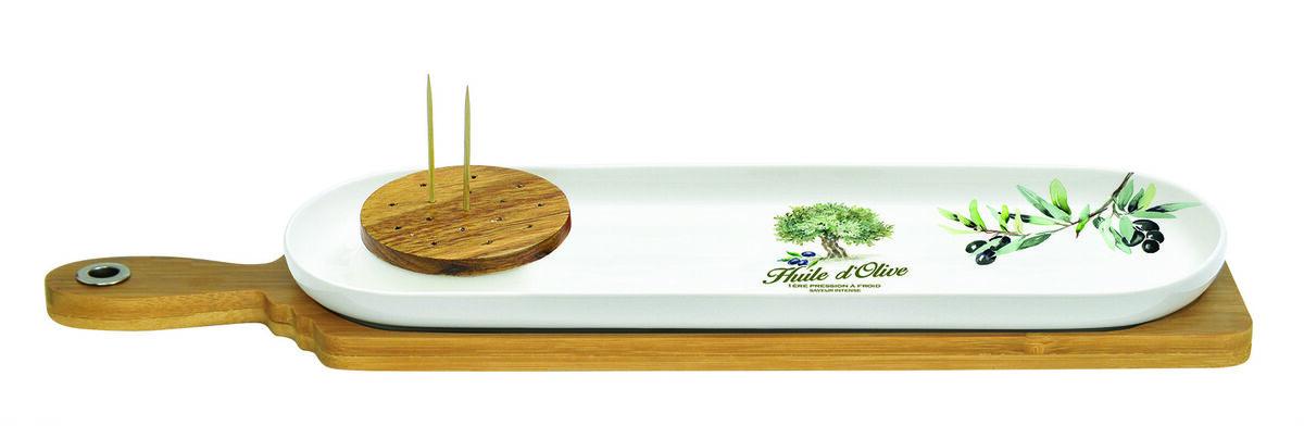 Подарок на Новый год Nuova R2S Набор для закусок «Прованс», 5 предметов - фото 1