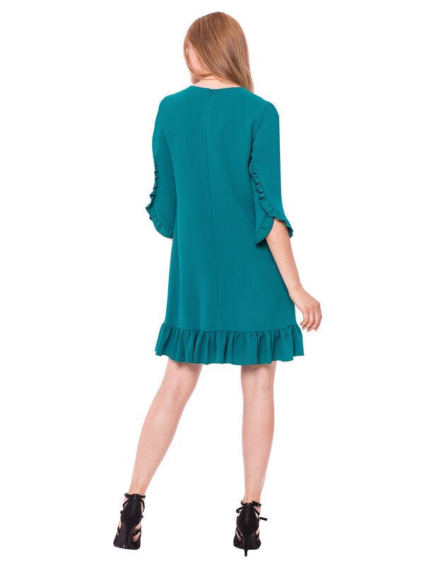 Платье женское L'AF Платье Arize 39YL (бирюзовое) - фото 2