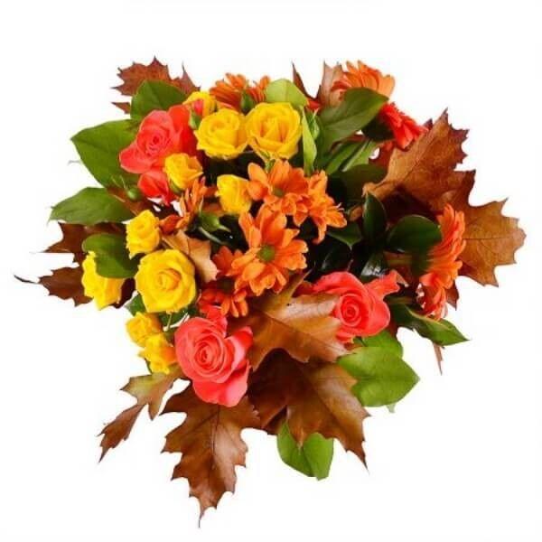 Магазин цветов Букетная Букет «Осенний» - фото 2