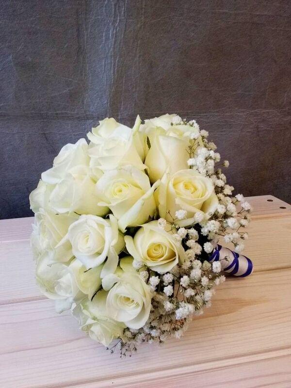Магазин цветов VGosti.by Свадебный букет «Первая любовь» - фото 3