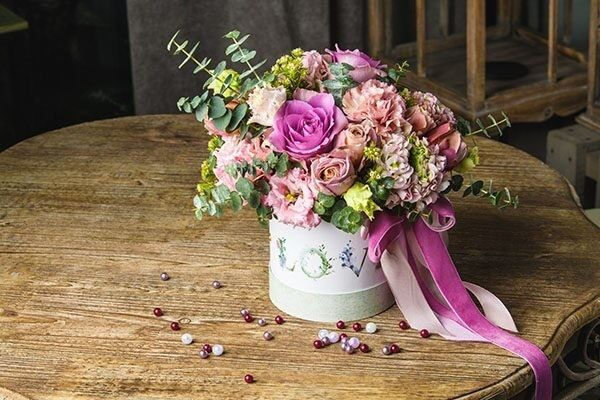 Магазин цветов Цветы на Киселева Букет в коробке «Милый» - фото 1