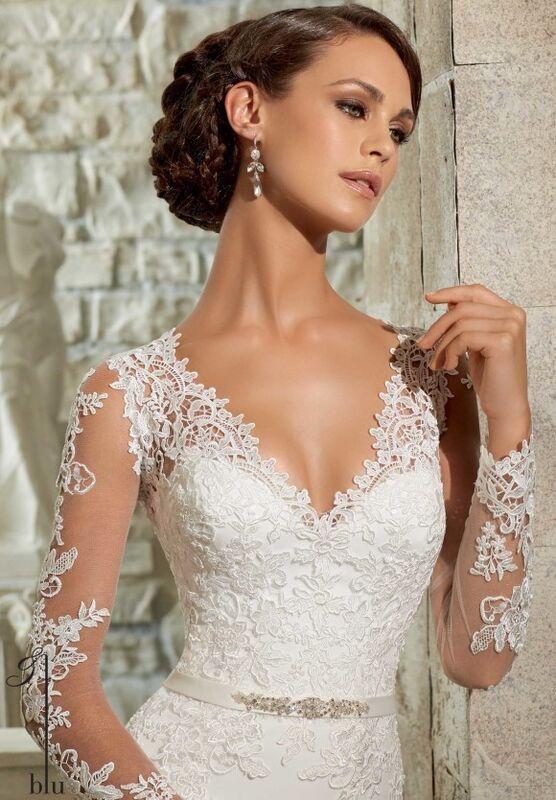 Свадебный салон Mori Lee Свадебное платье Blu 5306 - фото 3