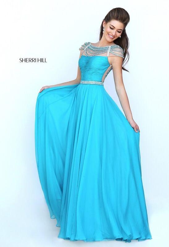 Вечернее платье Sherri Hill Платье вечернее 50414 - фото 2