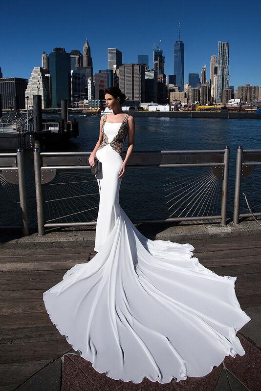 Свадебное платье напрокат La Festa Платье свадебное PLD117-1/1 - фото 1