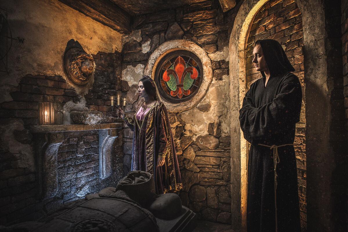 Квест Клаустрофобия Квест «Код да Винчи: В поисках Грааля» на 2 чел. - фото 2