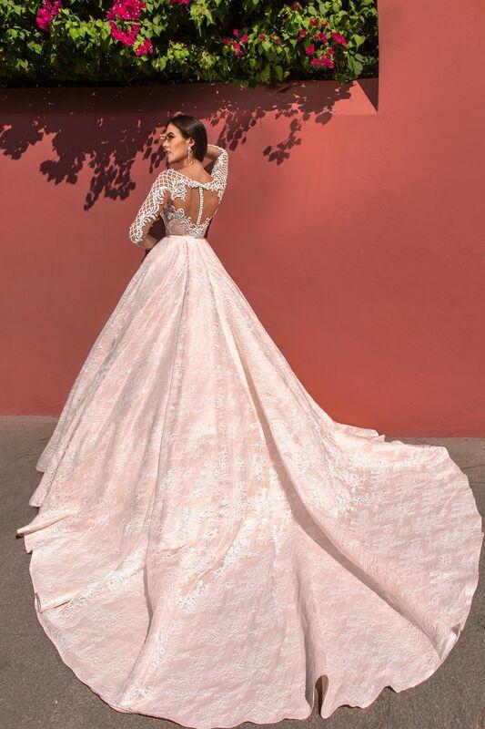 Свадебное платье напрокат Crystal Свадебное платье Jovanna - фото 2