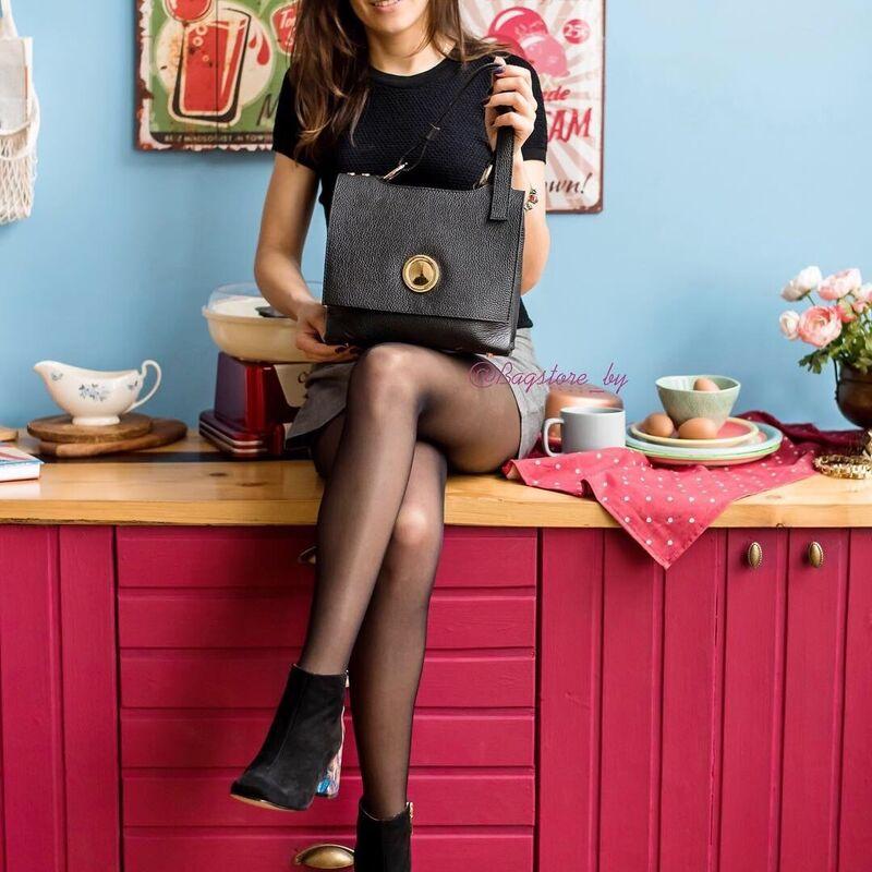 Магазин сумок Vezze Кожаная женская сумка C00443 - фото 1