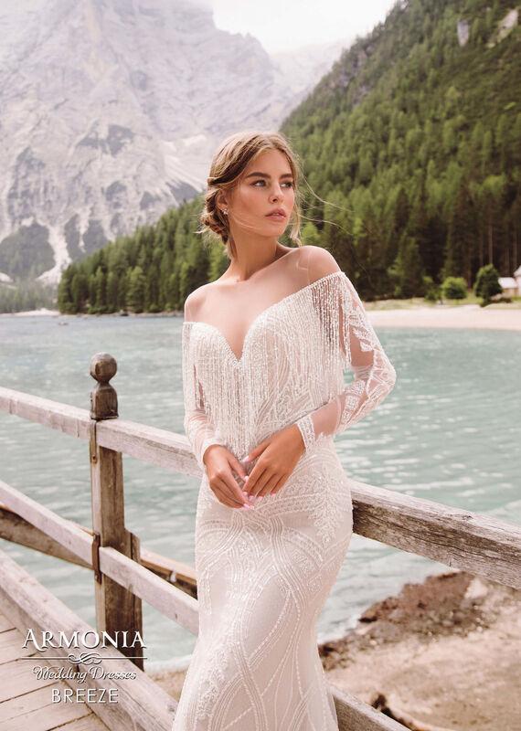 Свадебный салон Armonia Свадебное платье Breeze - фото 4