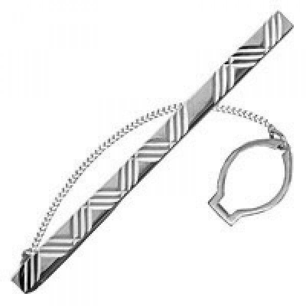 Ювелирный салон Aquamarine Jewelry Зажим для галстука 70418 - фото 1