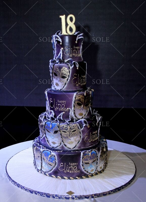 Торт Sole Праздничный торт №31 - фото 1