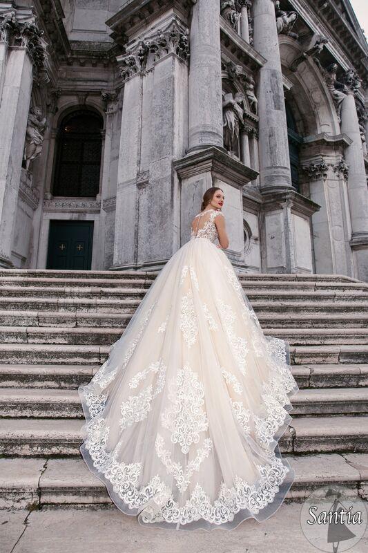 Свадебное платье напрокат Bonjour Galerie Платье свадебное «Santia» из коллекции LE DELICE - фото 2