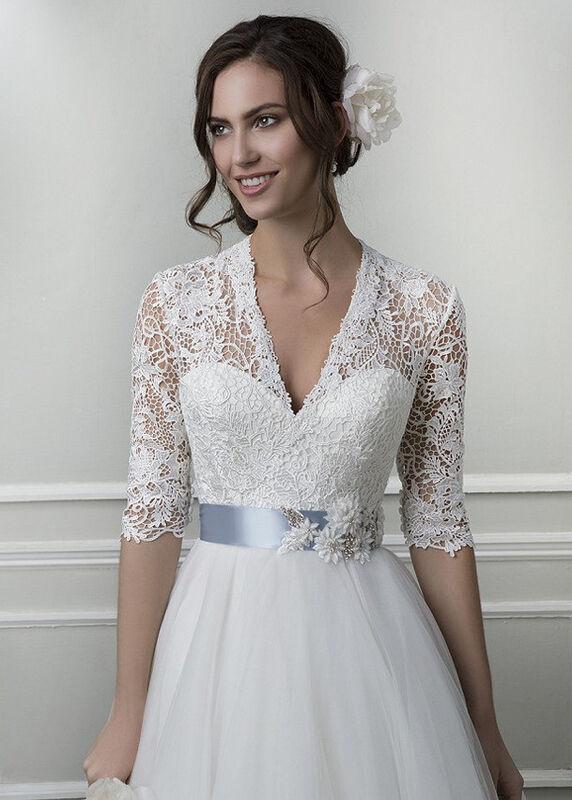 Свадебное платье напрокат Lillian West Платье свадебное «Amanda» - фото 3
