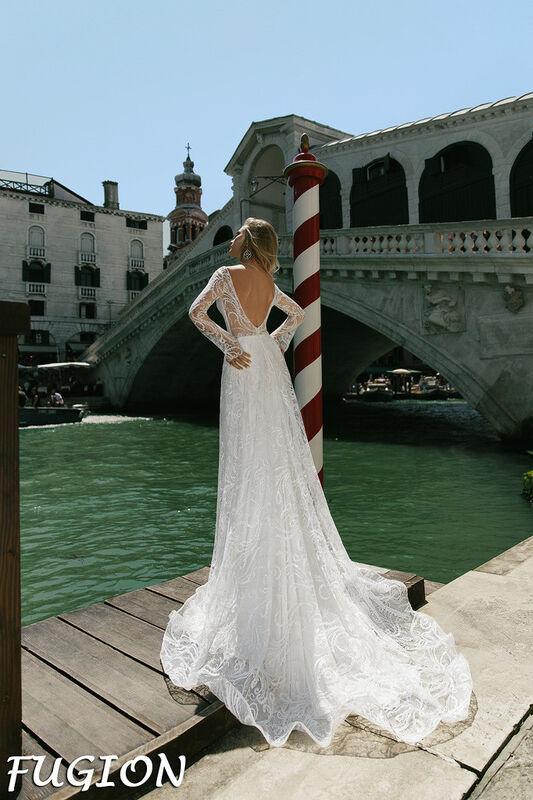 Свадебный салон Bonjour Galerie Свадебное платье Fugion из коллекции La Douceur - фото 2