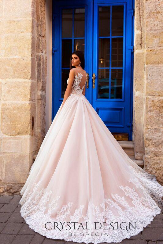 Свадебный салон Crystal Платье свадебное Avrora - фото 3