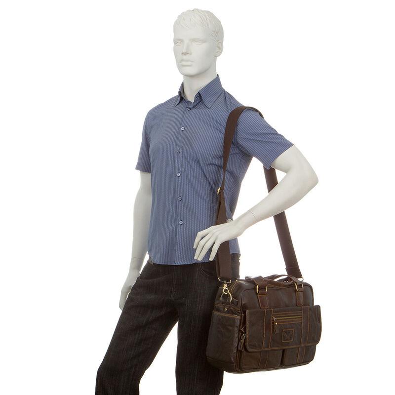 Магазин сумок Poshete Сумка мужская 196-1384-6 - фото 2