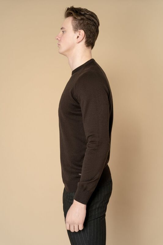 Кофта, рубашка, футболка мужская Etelier Джемпер мужской  tony montana T1031 - фото 5