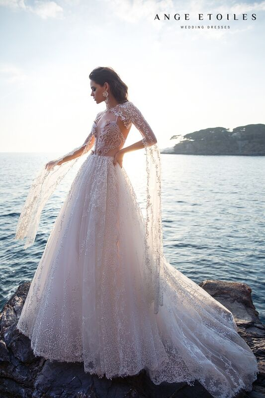 Свадебное платье напрокат Ange Etoiles Свадебное платье Ali Damore Beverly - фото 2