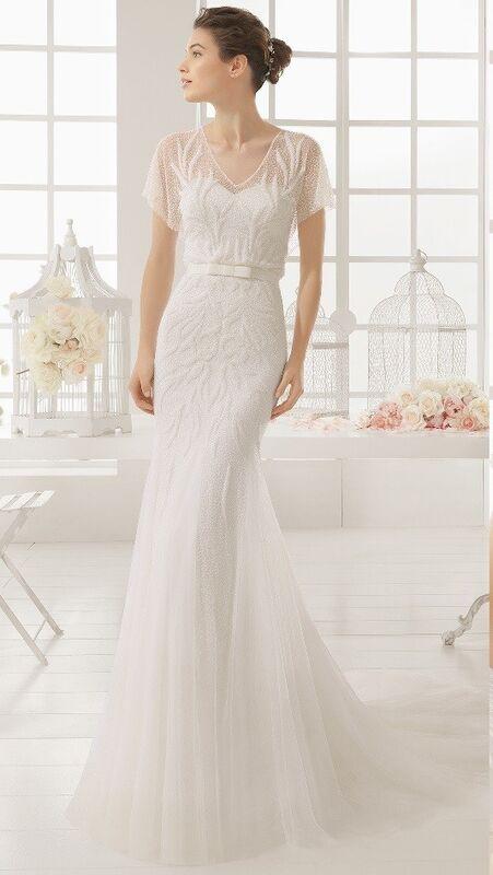 Свадебное платье напрокат Rosa Clara Платье свадебное Madian - фото 1