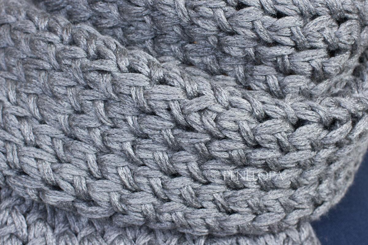 Шарф и платок PENELOPA Шарф из пряжи с шелком M95 - фото 5
