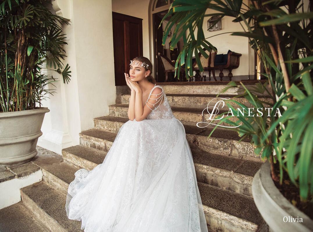 Свадебный салон Lanesta Свадебное платье Olivia - фото 4